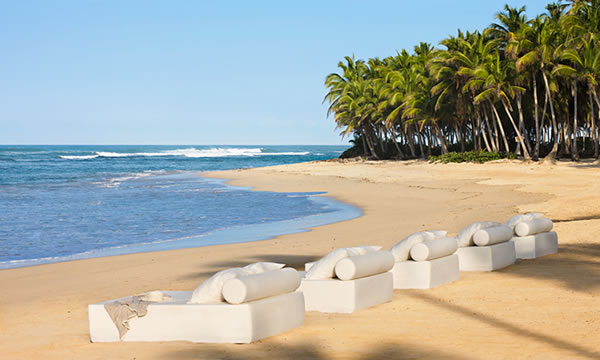 The beach at Excellence Punta Cana